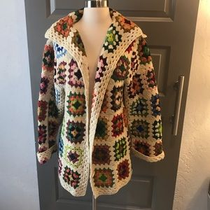 Amazingly Adorable Vintage Blanket Jacket